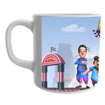 Product Guruji White Ceramic Motu Patlu Toons on Coffee Mug for Kids/Gift. 1 - Product GuruJi