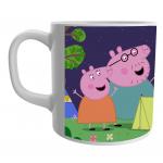 Product Guruji White Ceramic Peppa Pig Toon on Coffee Mug for Kids/Gift.… 2 - Product GuruJi