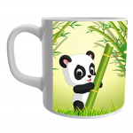 Product Guruji  Baby Panda Cartoon  White Ceramic Coffee/Tea Mug for Kids.… 1 - Product GuruJi