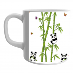Product Guruji  Panda Cute Cartoon Pattern Print White Ceramic Coffee/Tea Mug for Kids.… 2 - Product GuruJi