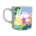 Product Guruji Peppa Pig Toon Print White Ceramic Coffee/Tea Mug for Kids.… 2 - Product GuruJi