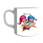 Product Guruji Disney Shimmer shineToon  Print White Ceramic Coffee/Tea Mug for Girls.… 2 - Product GuruJi