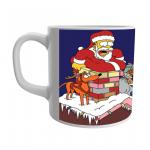 Product Guruji Santa Clous Toon Print White Ceramic Coffee/Tea Mug for Kids.. 1 - Product GuruJi