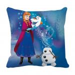 Product Guruji - Elsa Frozen Cartoon & Characters Cushion 12x12 with filler for kids, Elsa Frozen cushion for kids 1 - Product GuruJi