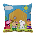 Product Guruji - Peppa pig cartoon cushion 12x12 with filler for friends/birthday gifts for kids 2 - Product GuruJi
