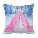 Product Guruji - Disney dolls cushion for Kids, dolls design print white cushion cover 12x12 with filler for kids. 1 - Product GuruJi