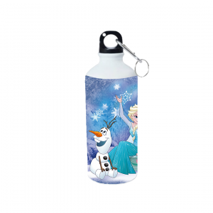 Product guruji Elsa frozen Cartoon Doll White Sipper Bottle 600ml For Girls/Kids... 3 - Product GuruJi