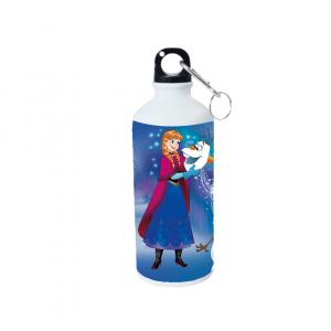 Product guruji Elsa frozen Cartoon Doll White Sipper Bottle 600ml For Kids/Gifts... 5 - Product GuruJi