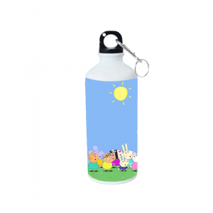 Product guruji Peppa Pig Toon Doll White Sipper Bottle 600ml For Kids... 4 - Product GuruJi