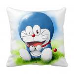 Product Guruji - Doraemon Toons & Characters Cushion 12x12 with filler for kids. 1 - Product GuruJi