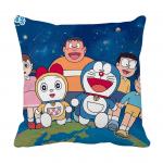 Product Guruji - Doraemon Toons & Characters Cushion 12x12 with filler for kids,  Doraemon cushion for kids 1 - Product GuruJi