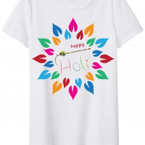 Holi Special Premium Polyester Tshirt for All Size 3 - Product GuruJi